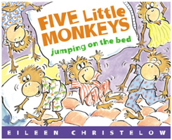 Five Little Monkey Jumping on the Bed